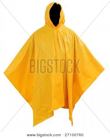 Waterproof outfit. Isolated