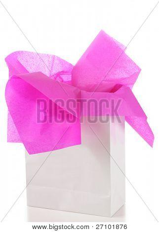 Bolsa de regalo. Aislado