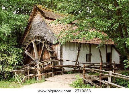 Old-Fashion Watermill