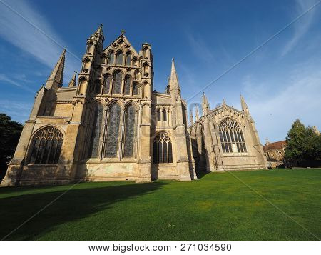 Ely Cathedral In Ely