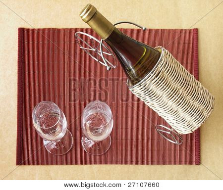 Wine & Glasses