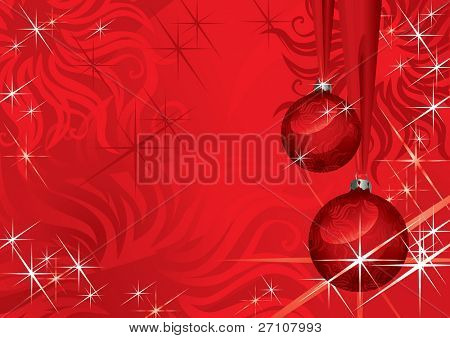 Christmas Ball (vector). In the gallery also available XXL jpeg image made from this vector