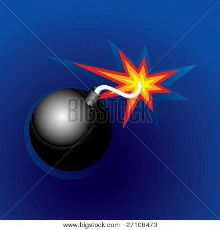 Exploding Bomb (illustration)