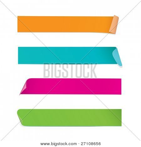 Colorful Stickers (in the gallery also available vector version of this image)