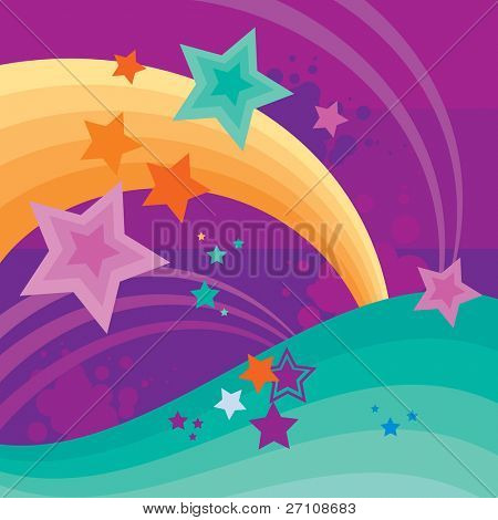Abstract Background With Space For Text (vector). In the gallery also available XXL jpeg image made from this vector