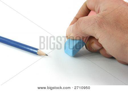 Erasing Closeup