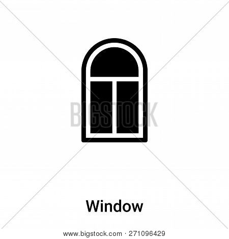 Window Icon In Trendy Design Style. Window Icon Isolated On White Background. Window Vector Icon Sim