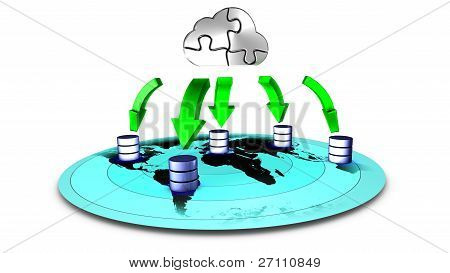 Database Cloud backup