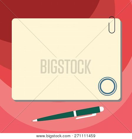 Design Business Concept Empty Copy Space Modern Abstract Background Blank Square Color Board With Ma