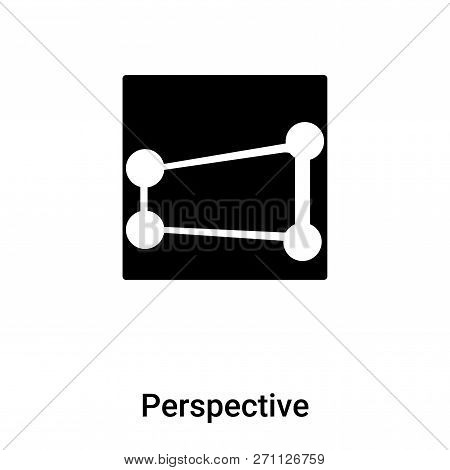 Perspective Icon In Trendy Design Style. Perspective Icon Isolated On White Background. Perspective