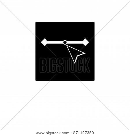 Vector Icon In Trendy Design Style. Vector Icon Isolated On White Background. Vector Vector Icon Sim
