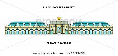 France, Grand Est - Place Stanislas, Place De La Carriere, And Place Dalliance In Nancy Line Travel