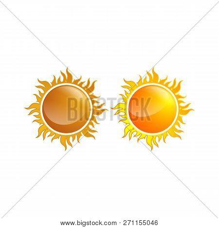 Sun Icon Iet  Sun Vector & Photo (Free Trial) | Bigstock