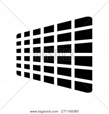 AI grid icon. Trendy flat vector AI grid icon on white background from Artificial Intellegence and Future Technology collection. High quality filled AI grid symbol use for web and mobile