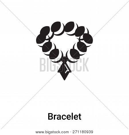 Bracelet Icon In Trendy Design Style. Bracelet Icon Isolated On White Background. Bracelet Vector Ic