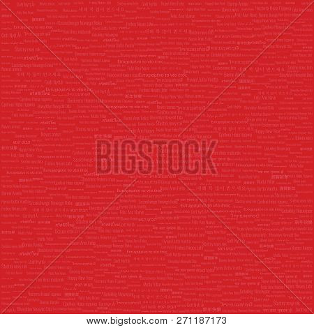 Christmas & New Year Themed Background High Density Tile Contains