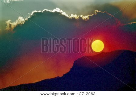 Arcade Sonnenuntergang