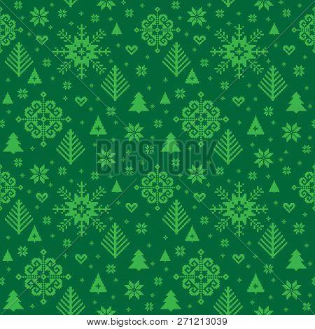 Christmas Ornamental Pattern