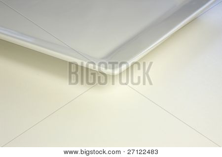 Corner Of A Plate