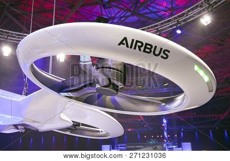 Airbus Drone Propellor Iat An Exibition In Amsterdam