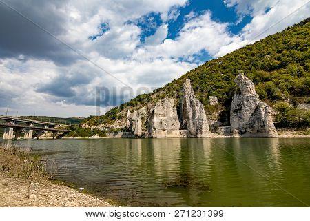 Autumn Landscape At The Chudnite Skali Natural Phenomenon, A.k.a Wonderful Cliffs, Bulgaria, Scenery