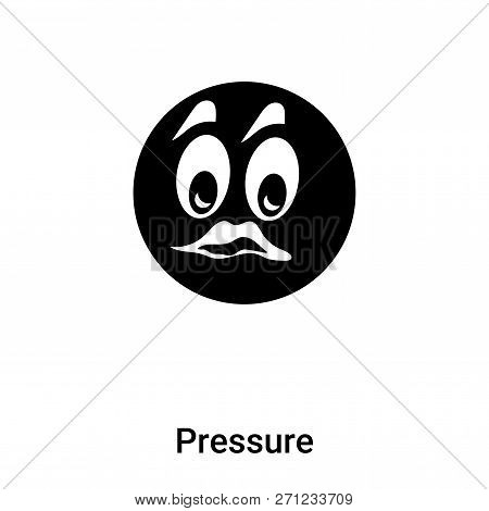 Pressure Icon In Trendy Design Style. Pressure Icon Isolated On White Background. Pressure Vector Ic