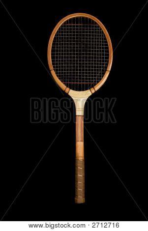 Vintage Wooden Tennis Racquet