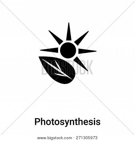Photosynthesis Icon In Trendy Design Style. Photosynthesis Icon Isolated On White Background. Photos