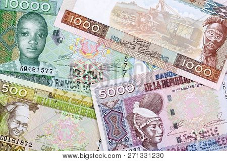 Guinean Money A Business Background With Francs