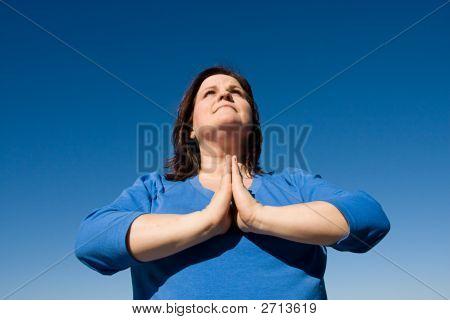 Praying Outdoors