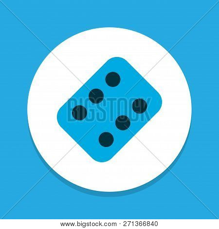 Medicament Icon Colored Symbol. Premium Quality Isolated Pellet Element In Trendy Style.