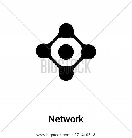 Network Icon In Trendy Design Style. Network Icon Isolated On White Background. Network Vector Icon