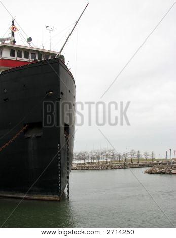 Ship On Lake Erie