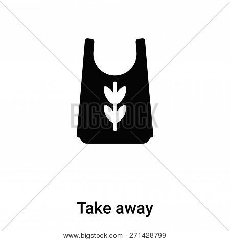 Take Away Icon In Trendy Design Style. Take Away Icon Isolated On White Background. Take Away Vector