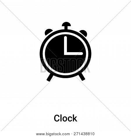 Clock Icon Trendy Vector & Photo (Free Trial) | Bigstock