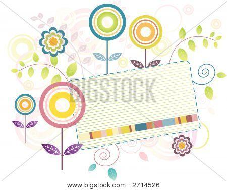 Retro Flowers (Replacing: 2660266)
