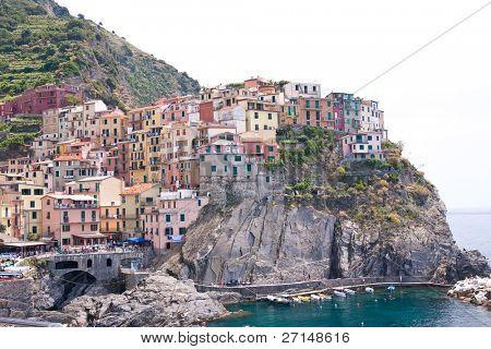 architecture in Cinque Terre, Italy