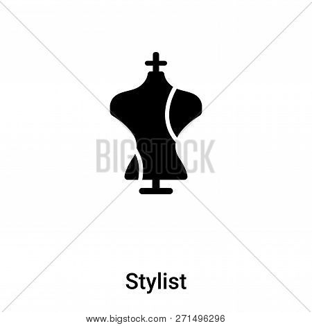 Stylist Icon In Trendy Design Style. Stylist Icon Isolated On White Background. Stylist Vector Icon