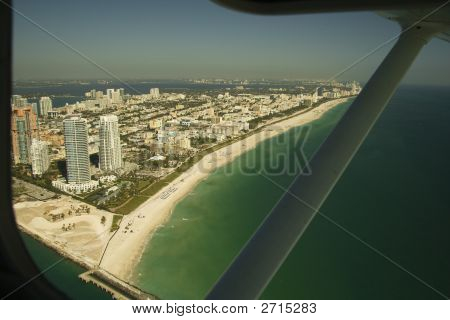 Flying Over Miami