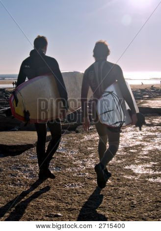 Surfers Go Surfing