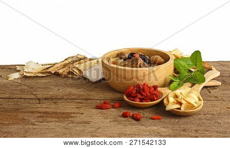 Chinese Soup And Herbal Medicines