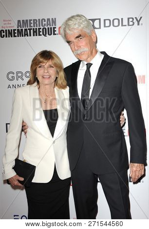 Katharine Ross and Sam Elliott at the 32nd American Cinematheque Award Presentation Honoring Bradley Cooper held at the Beverly Hilton Hotel in Beverly Hills, USA on November 29, 2018.