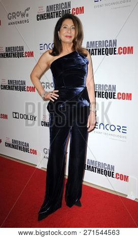 Paula Wagner at the 32nd American Cinematheque Award Presentation Honoring Bradley Cooper held at the Beverly Hilton Hotel in Beverly Hills, USA on November 29, 2018.