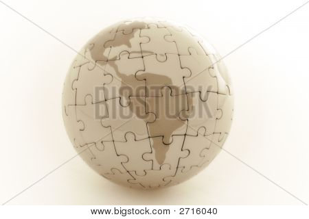 Puzzle Earth - Central/South America