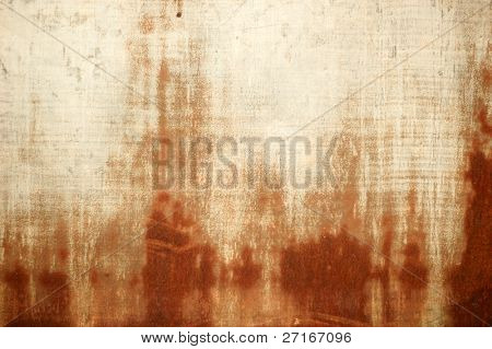 warm toned grunge with a rusty texture