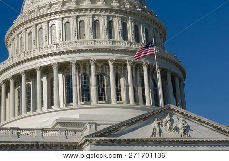 United States Capitol Building - Washington DC United States of America