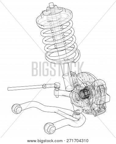 Car Shock Absorber Images Illustrations Vectors Free