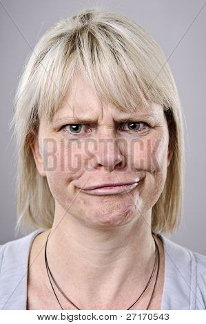 A real funny face captured in high detail