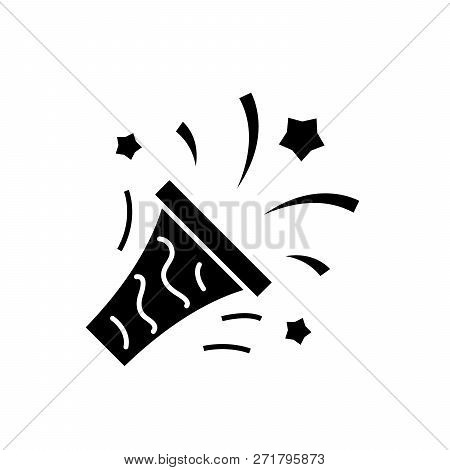 Mens Victory Black Icon, Vector Sign On Isolated Background. Mens Victory Concept Symbol, Illustrati