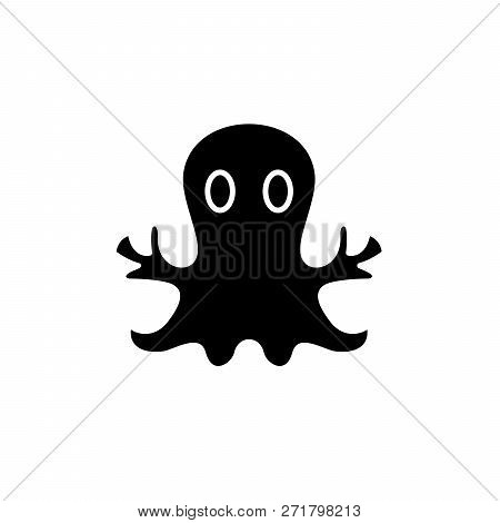 Mystery Cast Black Icon, Vector Sign On Isolated Background. Mystery Cast Concept Symbol, Illustrati